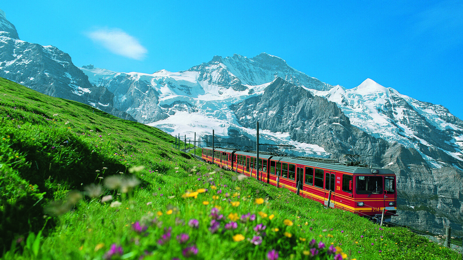Jungfraubahn Panorama