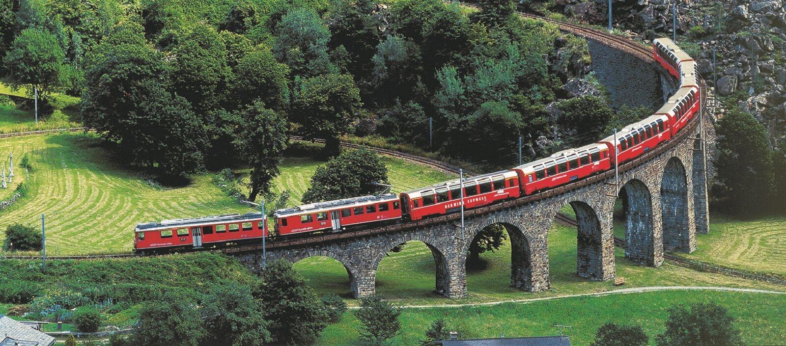 Brusio spiral viaduct