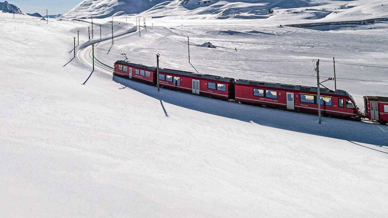 Rhätische Bahn, Bernina Pass
