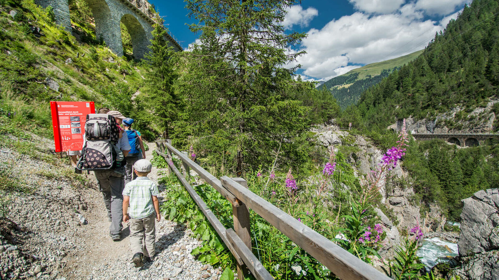 Railway Adventure Trail Albula
